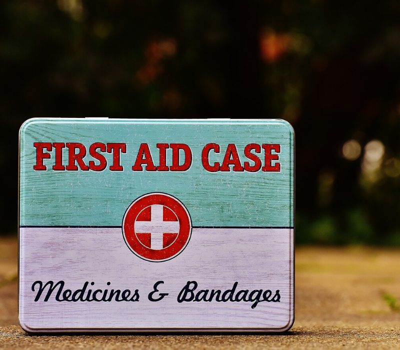 all other loans first aid box for medicine and bandages