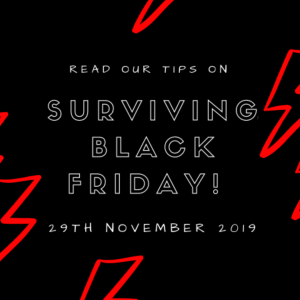 How to Survive the Black Friday Period on a Budget